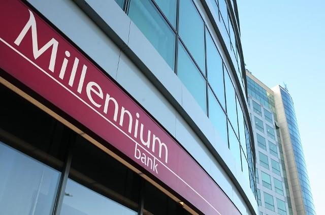 Z banku Millenium i innych banków wyłudzono miliony.