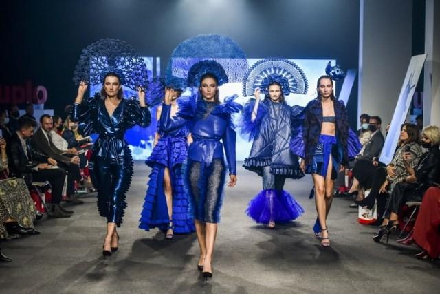 Projekty Adriana Lewandowskiego, finalisty Fashion Designer Awards, są inspirowane nocnym życiem miasta.