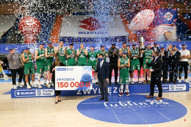 Koszykarze Enei Zastalu BC Zielona Góra zdobyli Puchar Polski.