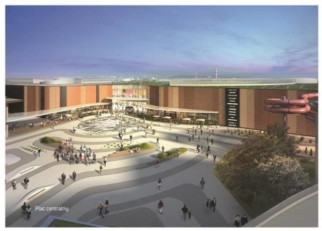 Projekt rewitalizacji i rozbudowy centrum przewiduje także m.in. stworzenie placu oraz tarasu widokowego na dachu