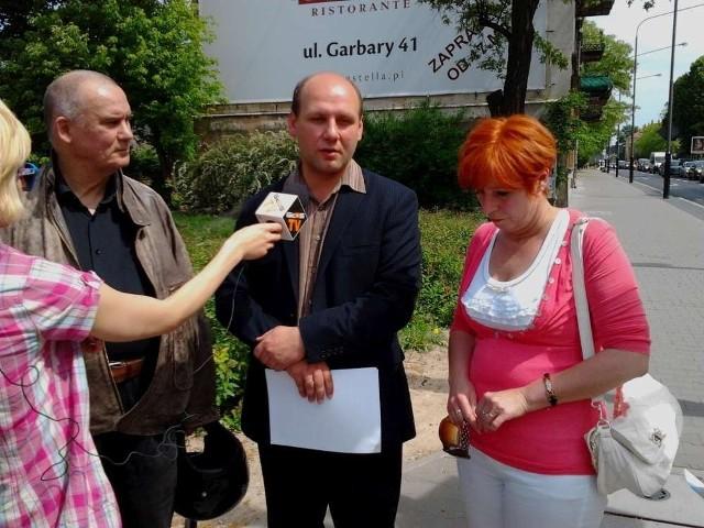 Politycy PiS domagają się ukarania osoby odpowiedzialnej za przebudowę Bukowskiej
