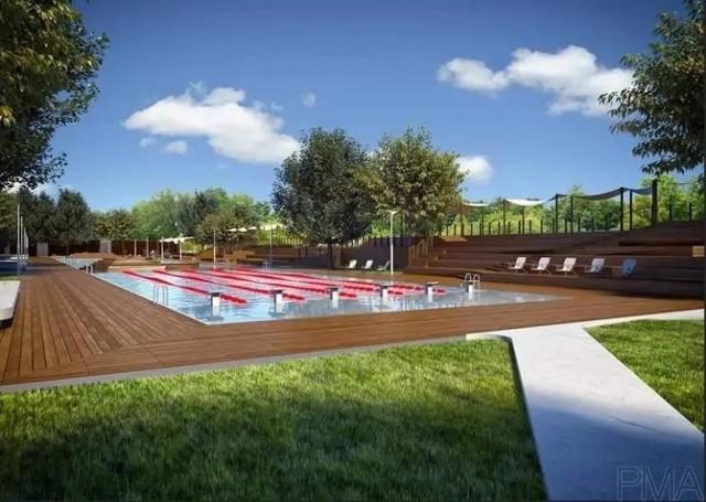 Tak ma wyglądać basen przy ul. Korfantego w Brzegu.