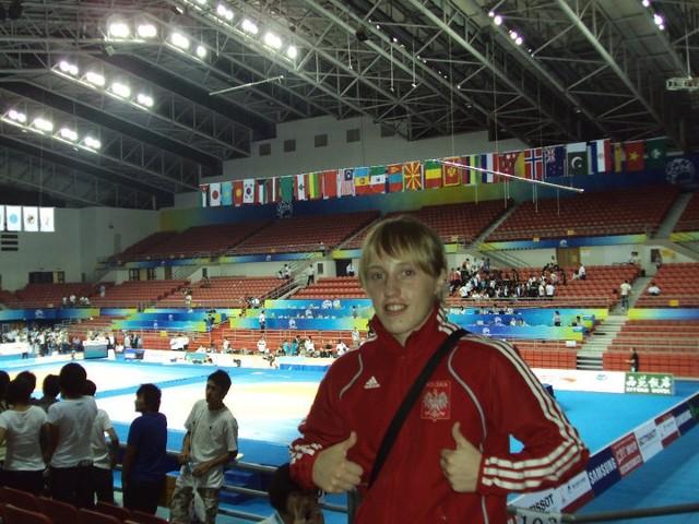 Katarzyna Krawczyk (Cement Gryf Chełm) jest naszą wielką nadzieją na awans na igrzyska olimpijskie w Londynie