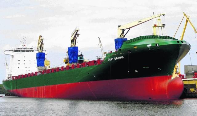 PRS nadzorował budowę i klasyfikował niedawno ochrzczony masowiec Port Gdynia