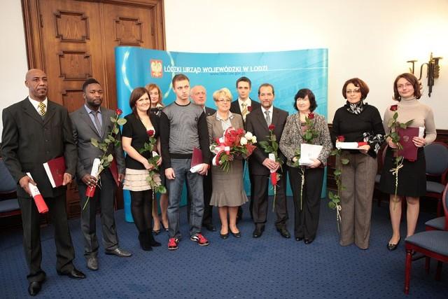 Nadawanie obywatelstwa polskiego w listopadzie 2011 roku.