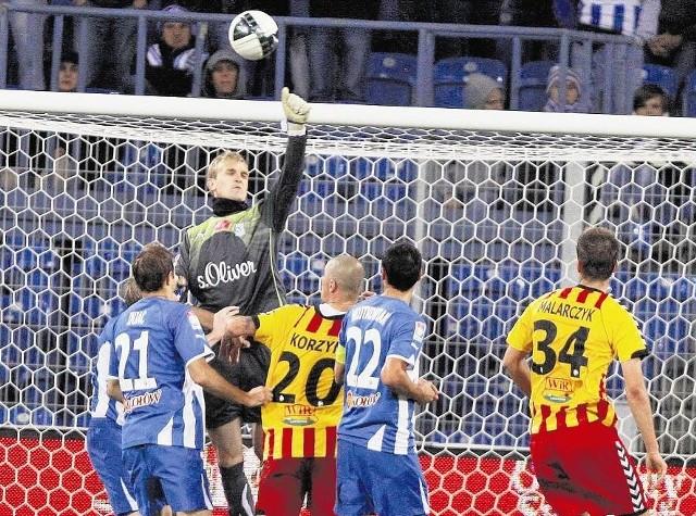 Bośniak Jasmin Buric uratował Lecha przed stratą gola