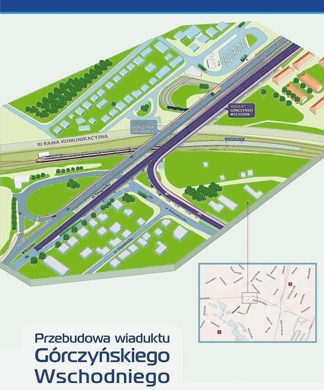 Przebudowa wiaduktu górczyńskiego