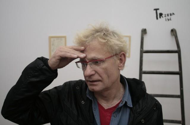 """Marek Janiak, doktor habilitowany, wykładowca, artysta, członek grupy """"Łódź Kaliska"""", a od sierpnia 2011 architekt miasta Łodzi."""
