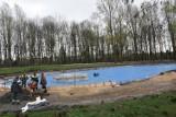 Trwa remont małego basenu na Skałce w Świętochłowicach [ZDJĘCIA]