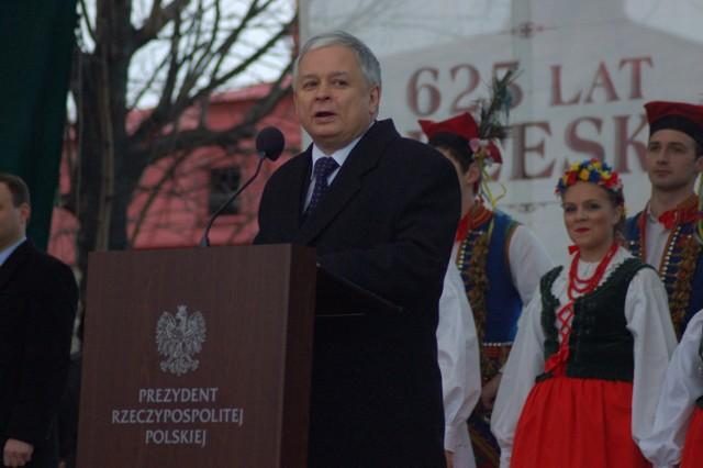 Prezydent spotkał się z mieszkańcami na placu Kazimierza