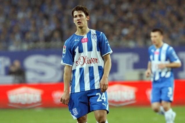 Tonew strzelił pierwszą bramkę dla Lecha Poznań.