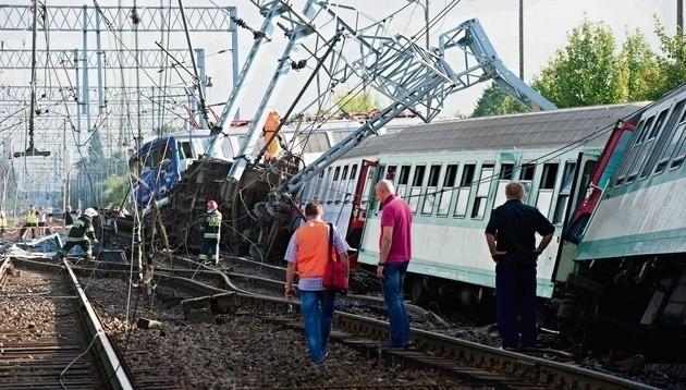 Katastrofa pociągu