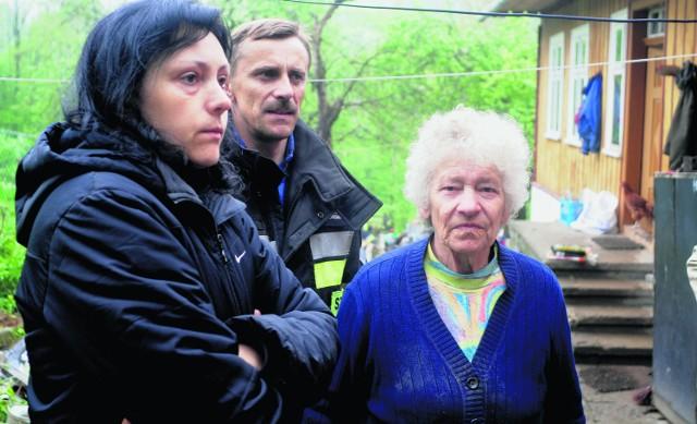 Antonina Skorut z córką są załamane stratami. Ich dom rodzinny nie nadaje się już do zamieszkania. Liczą na pomoc