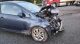 Wypadek na A1 w Czerwionce Leszczynach. TIR zderzył się z kilkoma autami, trasa autostrady jest częściowo nieprzejezdna