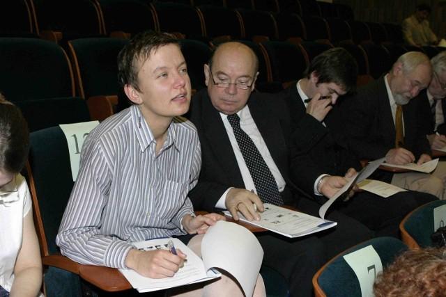 Adam Kopciuszewski, dyr. Teatru Zagłębia też ściągał na maturze dla VIPów