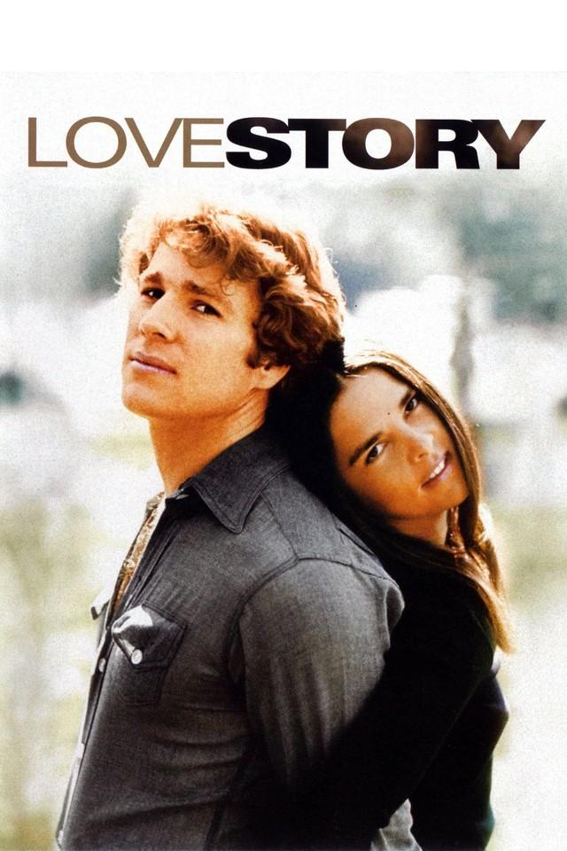 """Pamiętny plakat """"Love Story"""""""