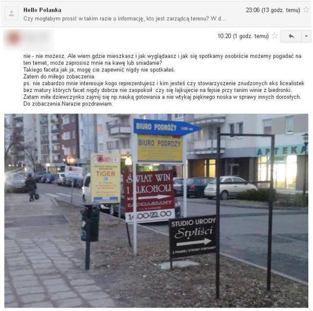 Grupa Hello Polanka, chciała uporządkować reklamowy bałagan na poznańskim osiedlu Polanka.