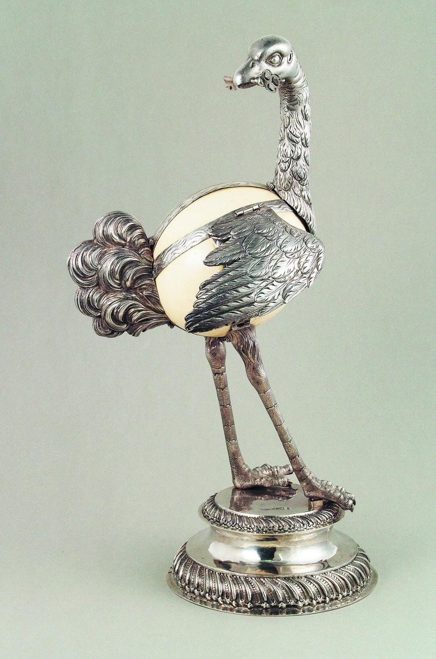 Figura strusia autorstwa Benjamina I Berenda.