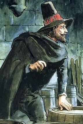 Guy Fawkes był XVI-wiecznym angielskim katolikiem