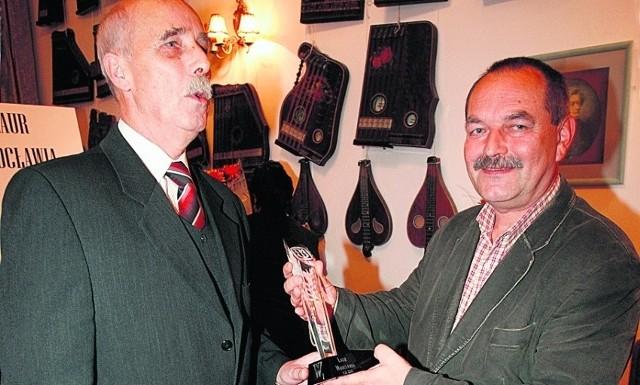 Wojciech Gryczyński, prezes TMW, złożył nagrodę na ręce Krzysztofa Bestera