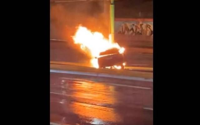Zdjęcie z wypadku na ul. Hetmańskiej, w którym zginęły dwie osoby