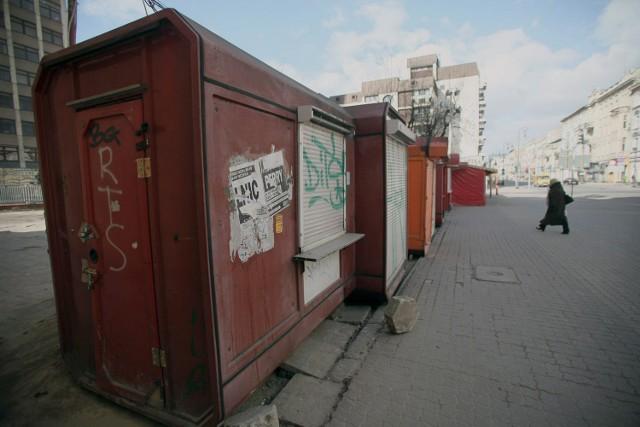 Kioski w centrum Łodzi być może wkrótce wypięknieją