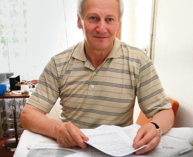 Tadeusz Obłój uważa, że został źle potraktowany po wypadku