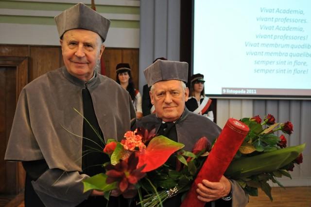 Prof. Liszewski doktorem honoris causa PŁ