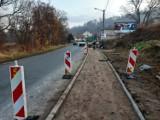 Gmina Walim: Remont chodnika w Jugowicach na ukończeniu