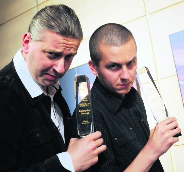 """Nagrodzeni Przemysław Franczak i Andrzej Banaś z """"GK"""""""