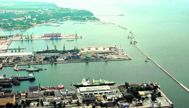 Nowy port ma powstać za głównym falochronem