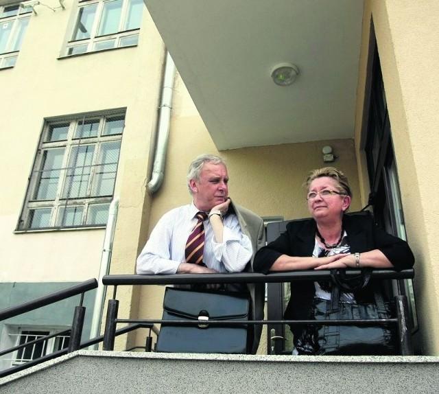 Ewa Kamińska przed spotkaniem z rodzicami
