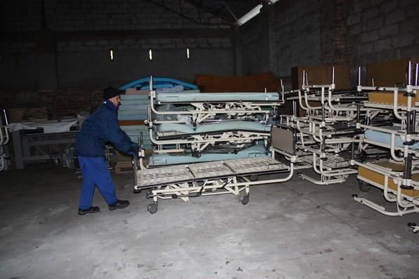 Kwidzyn łóżka Szpitalne I Szafki W Darze Od Joannitów