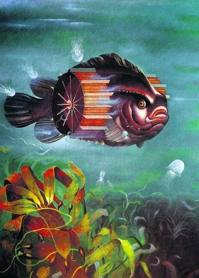 """""""Missisipifish"""" z 1993 roku. Autor: Paweł Trybalski"""