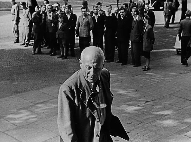 Pablo Picasso na lotnisku we Wrocławiu