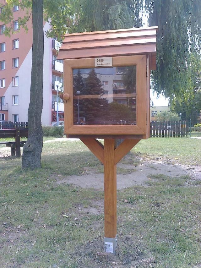 Książkodzielnia na osiedlu Pułanki w Ostrowcu Świętokrzyskim.
