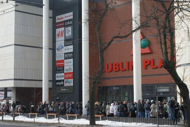 Plaza w Lublinie ewakuowana. Wszystko w ramach ćwiczeń