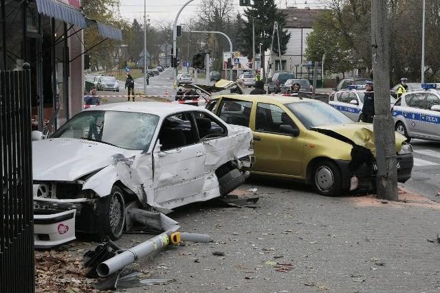 Do wypadku doszło w listopadzie na ulicy Nad Wierzbakiem