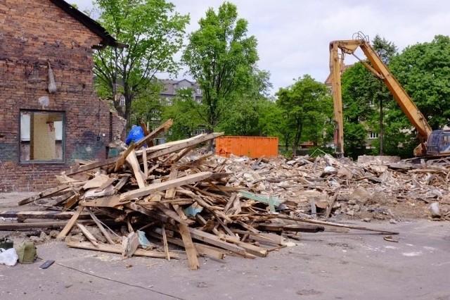 Trwają prace w starej zajezdni tramwajowej przy ul. Gajowej.