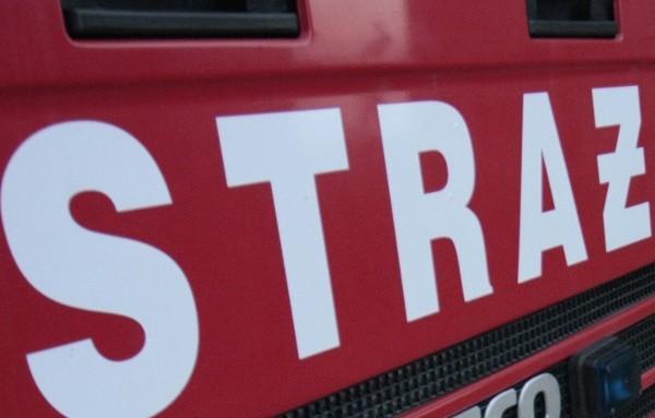 Przed godziną 10 na miejscu zdarzenia Straż Pożarna usuwała jeszcze skutki kolizji ciężarówek.