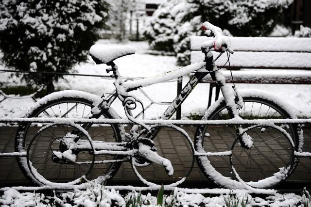 Zasypane śniegiem Jasło.