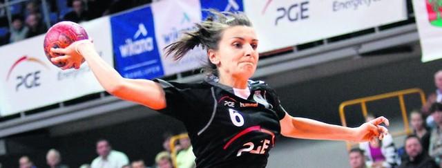 Agnieszka Kocela zanotowała w meczu z Hiszpankami pięć trafień