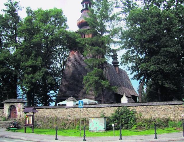 Kościółek w Rabce można zwiedzić poza nabożeństwami