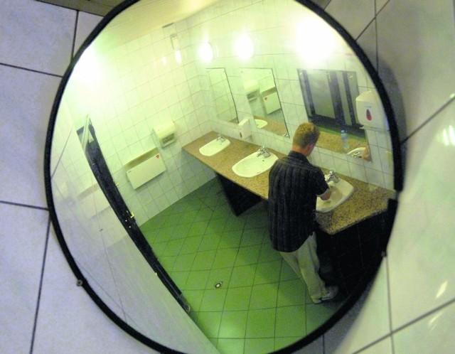 Idąc do banku, na wszelki wypadek lepiej skorzystać z toalety zawczasu, by nie mieć kłopotów