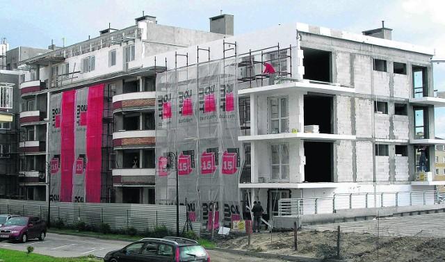 W budynku, którego budowę Lammex zaczął w 2002 r. i teraz ją kończy,  mają być 54 mieszkania