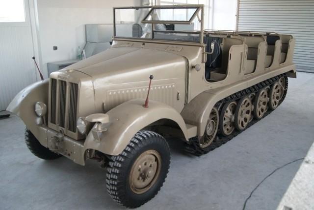 Tak wygląda pojazd po rekonstrukcji...