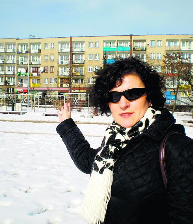 Teresa Wojciechowska także z niecierpliwością czeka na telebim. Pojawi się dopiero w maju