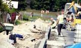 Ulica Wieluńska w Złoczewie w przebudowie. Zobacz postęp prac ZDJĘCIA