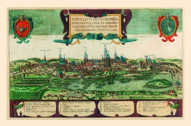 Lublin z przełomu XVI i XVII w. jedno z najznakomitszych miast Polski