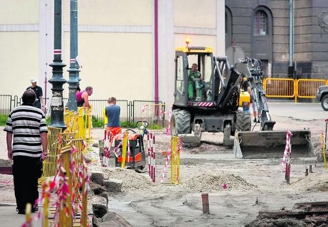 Remont placu Kościelnego ma zakończyć się we wrześniu